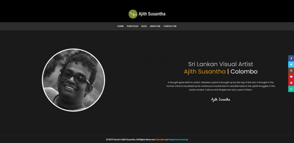 Ajith Susantha | Portfolio Website