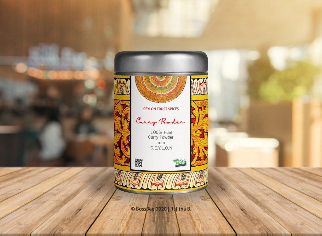 Ceylon Trust Spices | Product Label